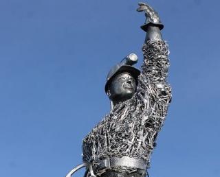 Escultura do Mineiro