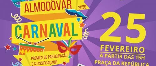 Baile de Máscaras, Corso Carnavalesco e concerto fazem mexer Carnaval em Almodôvar