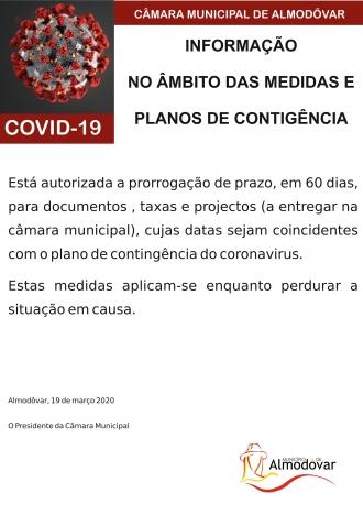 Prorrogação de prazos administrativos (Covid-19)