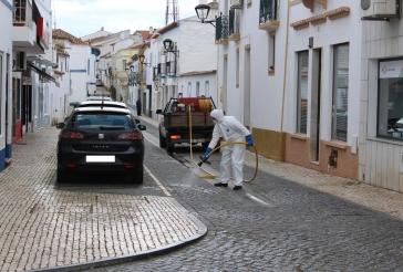 Covid-19 - Desinfeção de ruas