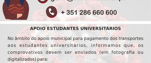 Apoio a Estudantes Universitários (Covid-19)