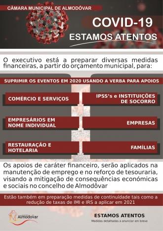 Apoios de carácter financeiro (Covid-19)