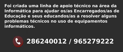 Linha de Apoio Técnico PTAAL (Covid-19)