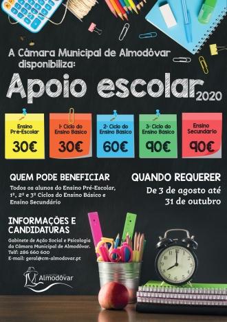 Candidaturas Apoio Escolar 2020-2021