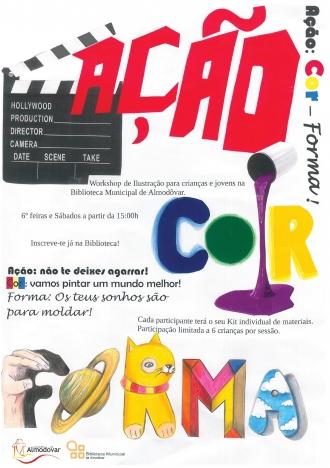 Workshop de Ilustração para crianças