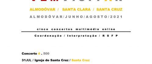 Almodôvar Património Multimédia Vem Visitar: 500 na Igreja de Santa Cruz