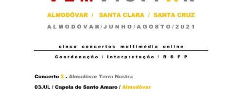 Almodôvar Património Multimédia Vem Visitar: Almodôvar Terra Nostra na Capela de Santo Amaro