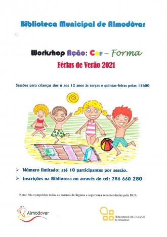 Workshop Ação: Cor – Forma
